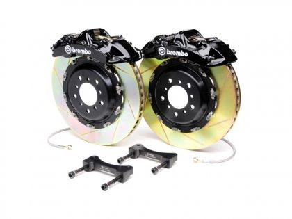 Brembo 2012 Mercedes-Benz C-Class GT Slotted Brake Kit 1N2.9527A1 Front 405mm X 34mm Slotted Brake Kit With 6-Piston
