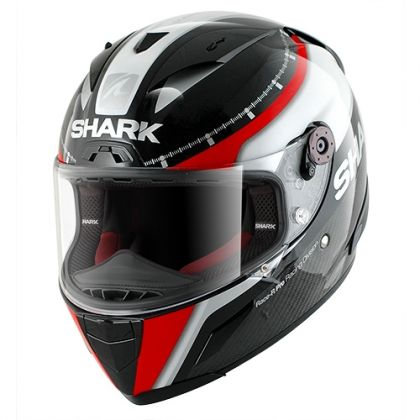 Race-R PRO CARBON RACING DIVIS Black white red