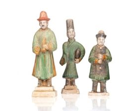 "Figurine ""Chinese Men"""